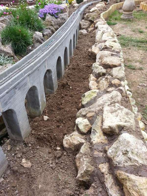 Construction of Low Shott Viaduct