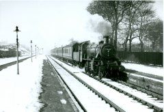 Pontefract Steam in the snow No.1
