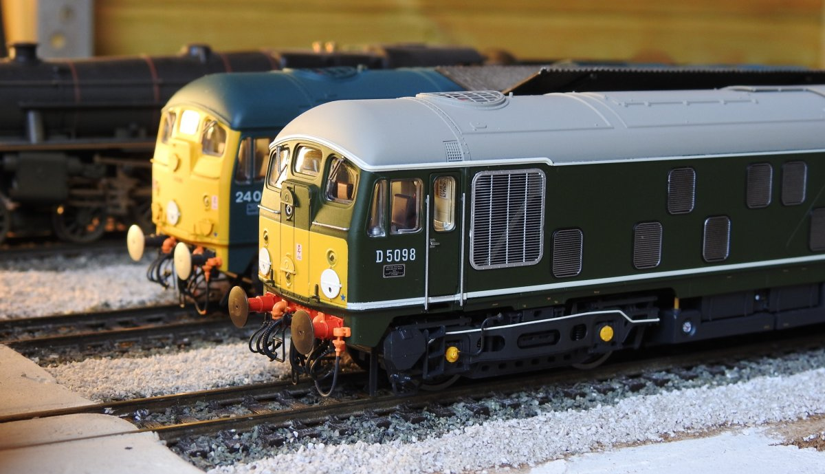 Class 24s on shed