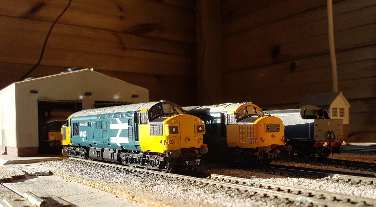 Sheiling Bridge depot