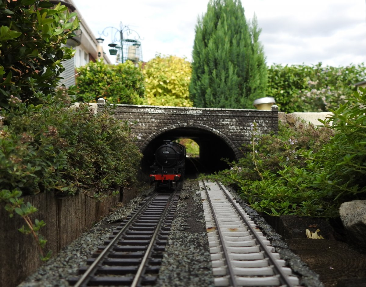 62024 emerges from Watch House tunnel