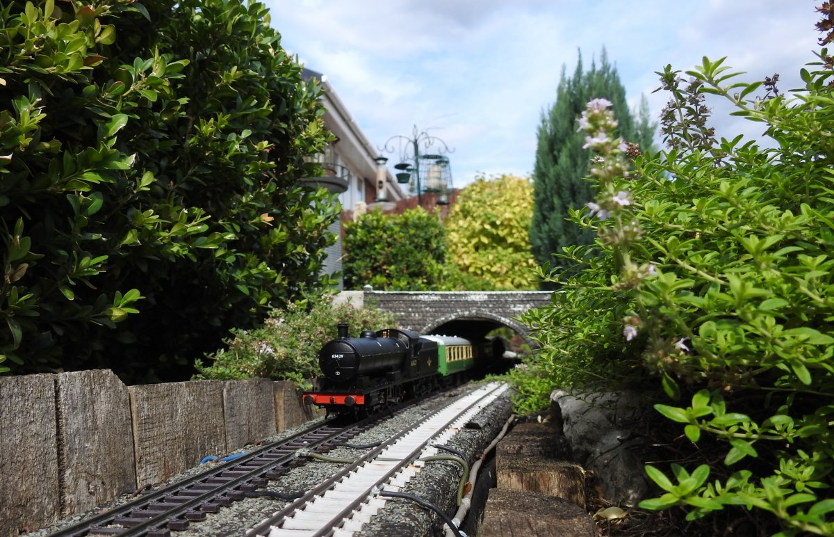 Raven Q6 63429 passing Watch House tunnel