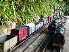 Mixed freight passes Throstlebeck Sidings