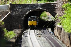 31439 enters Watch House tunnel