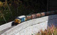 37025 on Low Shott viaduct