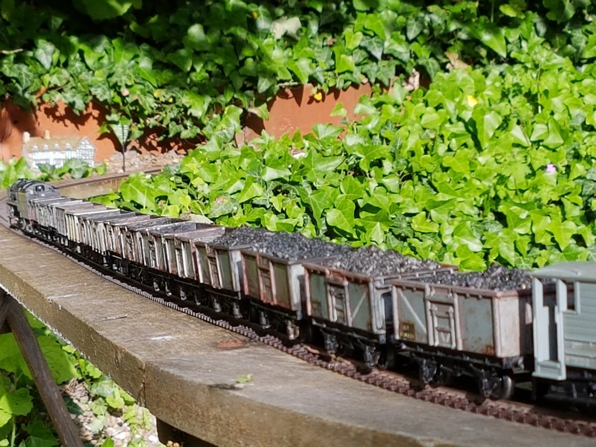 Coal train, Dorking Garden Railway