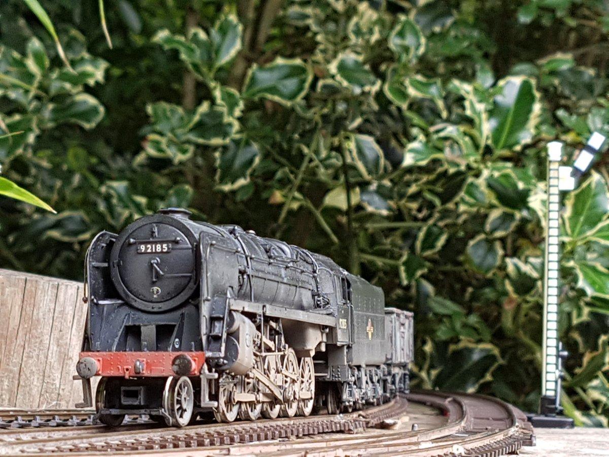 9F on coal train