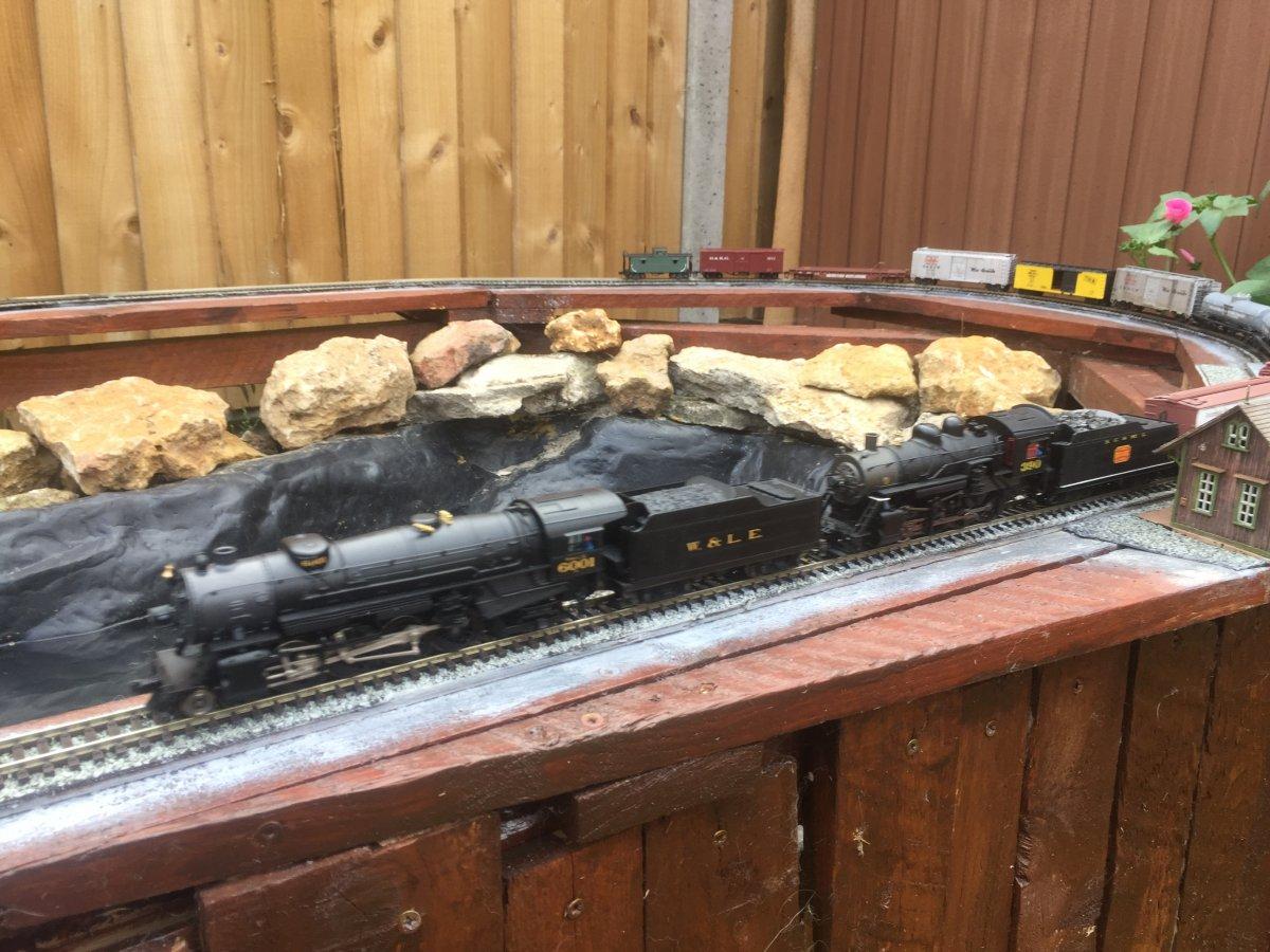 Husky Pass HO Garden Railroad